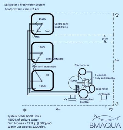 saltwater freshwater system design