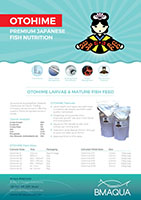 Otohime Fish Nutrition Brochure